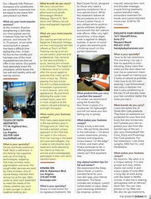 As seen in Ocean Magazine