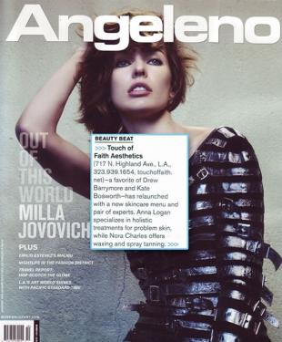 As seen in Press Angeleno Magazine